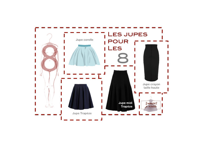 Guide pour choisir sa jupe selon à sa morphologie | 2